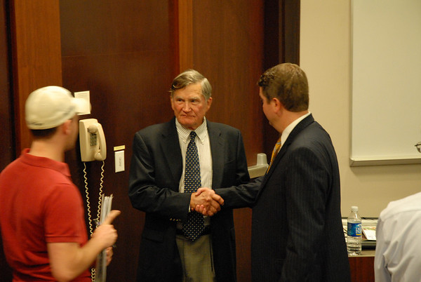 Tom Cousins, Founder Cousins Properties 04/25/08